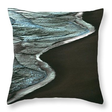 Waves Of The Future Throw Pillow