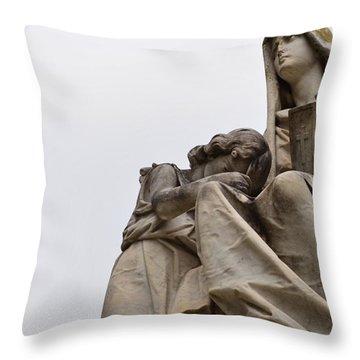 Waxahachie  Throw Pillow