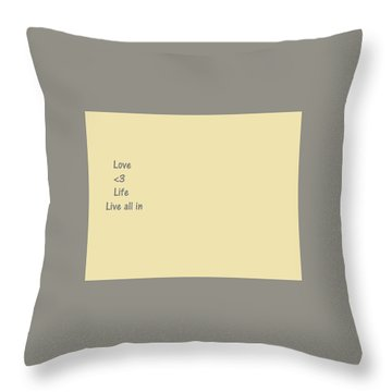 Throw Pillow featuring the photograph Way Of Life  by Aaron Martens