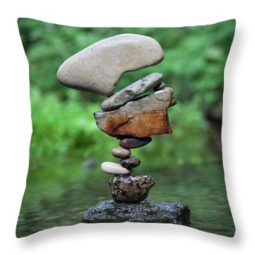 Way Of Zen Throw Pillow