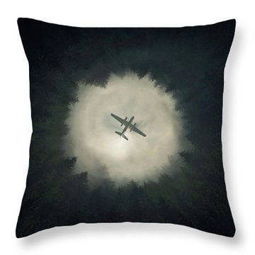 Way Out Throw Pillow by Zoltan Toth