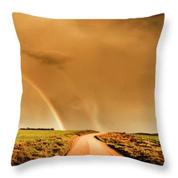 Way Outback Throw Pillow