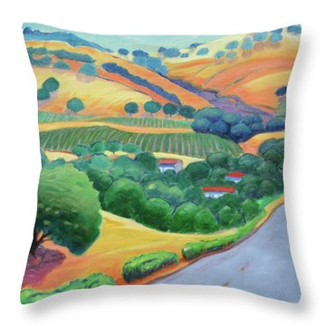 Way To Bear Throw Pillow