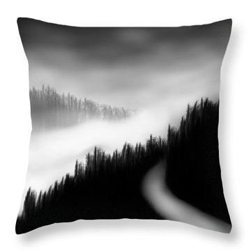 Way To The Unknown Throw Pillow