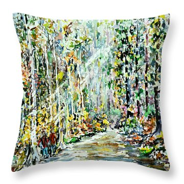Wayfarers Home Throw Pillow