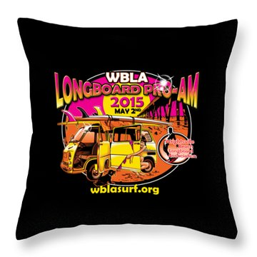 Wbla 2015 For Promo Items Throw Pillow