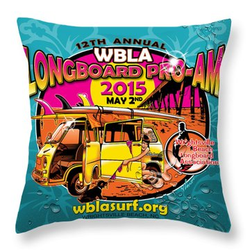Wbla 2015 Throw Pillow