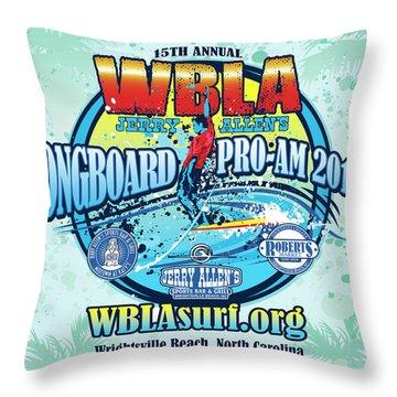 Wbla Proam 2017 Throw Pillow