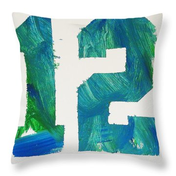 We Are 12 Throw Pillow