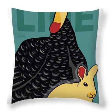 We Are All Cute Throw Pillow