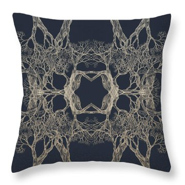 We Are All Made Of Stars Tree 12 Hybrid 1 Throw Pillow