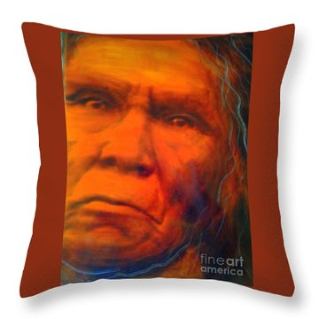 We Are First Nation Throw Pillow by FeatherStone Studio Julie A Miller