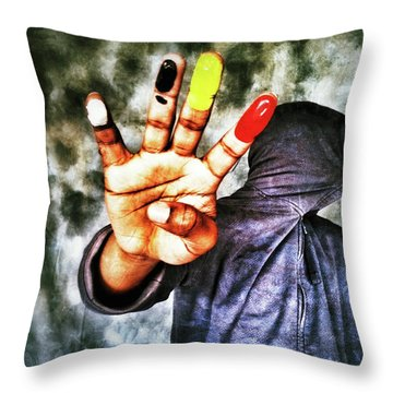 We Are One II Throw Pillow