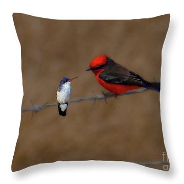 We Could Still Be Friends Throw Pillow