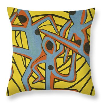We Dance Throw Pillow