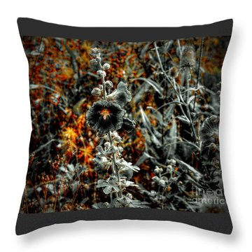 We Fade To Grey Changes Throw Pillow