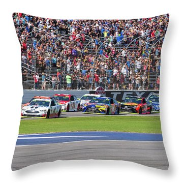 We Have A Race Throw Pillow