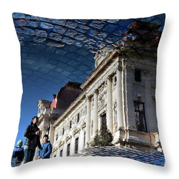 We Have Always Lived In The Castle Throw Pillow