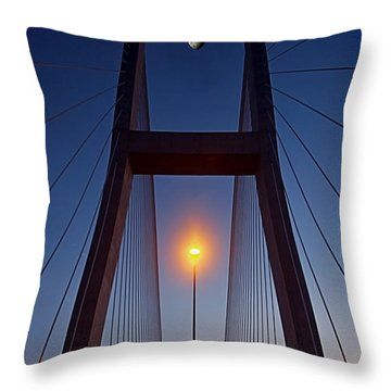 We Have Touch Down Throw Pillow