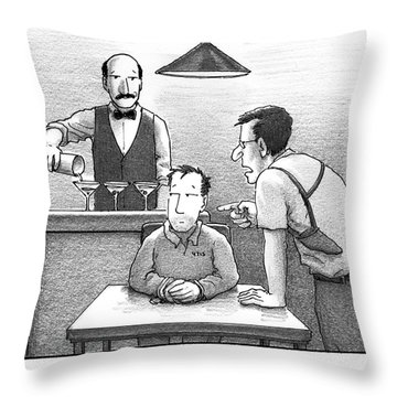 We Have Ways Of Making You Talk Throw Pillow
