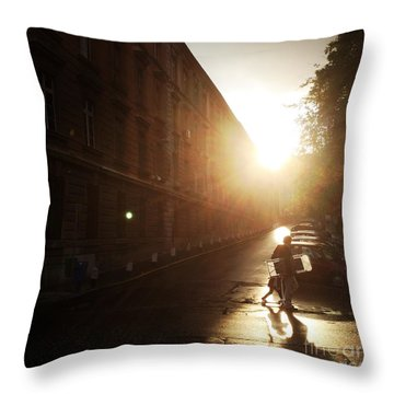 We Live In Budapest #11 Throw Pillow