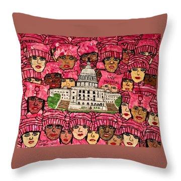 We Matter Throw Pillow