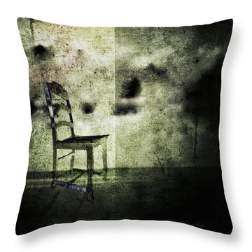 Throw Pillow featuring the digital art We Never Did That In Our Family by Delight Worthyn