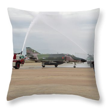 We Salute You Throw Pillow