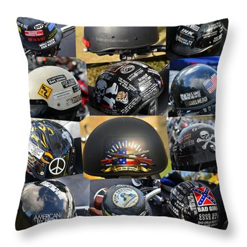 Throw Pillow featuring the photograph We The People by David Lee Thompson