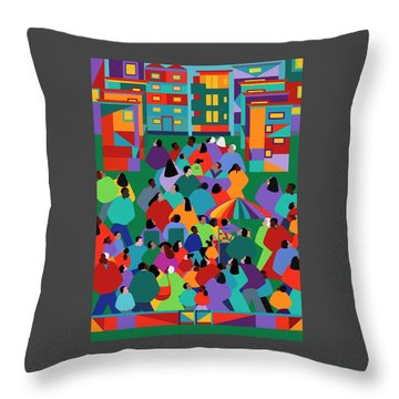 We The People One Throw Pillow