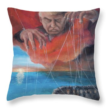 We Traded Our Hearts For Stones Throw Pillow