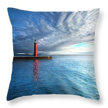 We Wait Throw Pillow