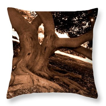 We Would -- Screaming Trees Throw Pillow