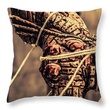Weapon Of Mass Construction Throw Pillow