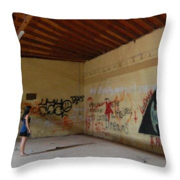 Wear House  Throw Pillow