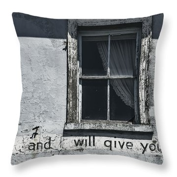 Weary Throw Pillow by Andrew Paranavitana