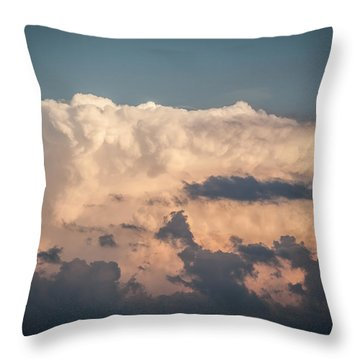 Weather Maker Throw Pillow by Ray Congrove