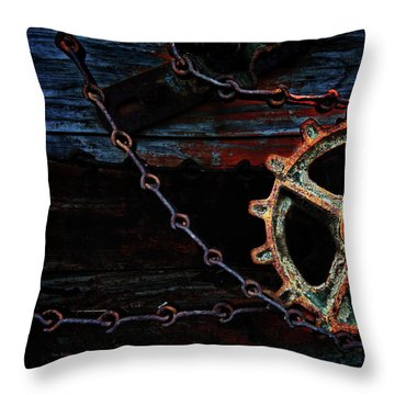 Weathered And Worn Throw Pillow by Bob Orsillo