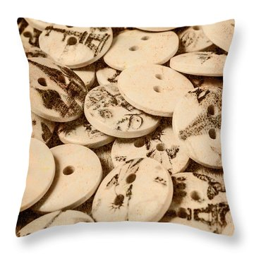 Weathered But Not Worn Throw Pillow