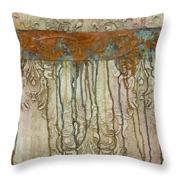 Weathered Throw Pillow by Chris Brandley