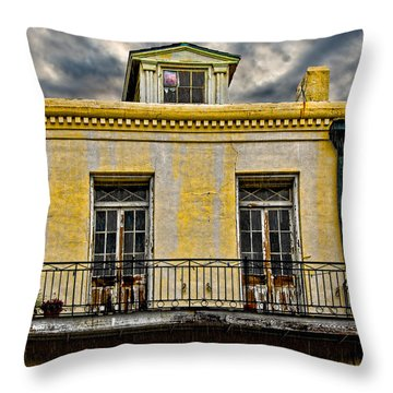 Weathered Throw Pillow by Christopher Holmes