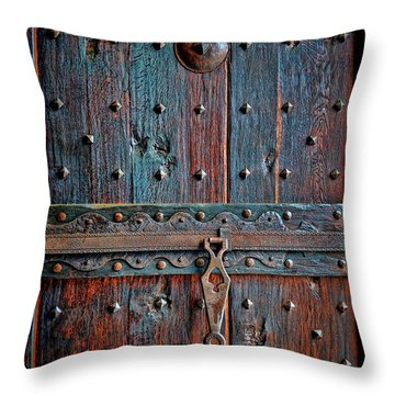 Throw Pillow featuring the photograph Weathered by Gina Savage