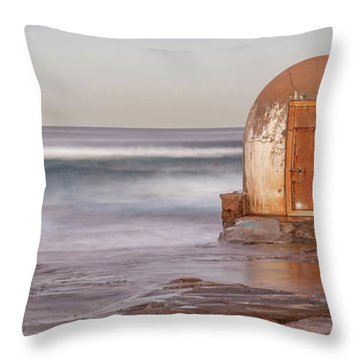 Weathered In Time Throw Pillow by Az Jackson