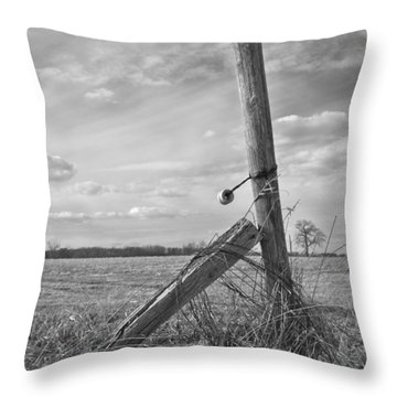 Weathered Throw Pillow by Inspired Arts