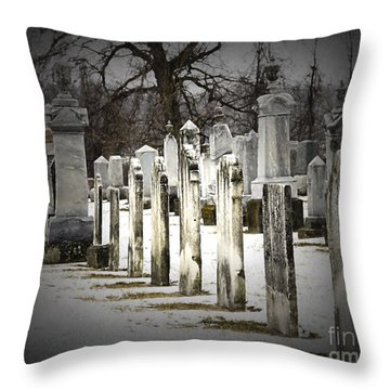 Weathered  Throw Pillow by JRP Photography