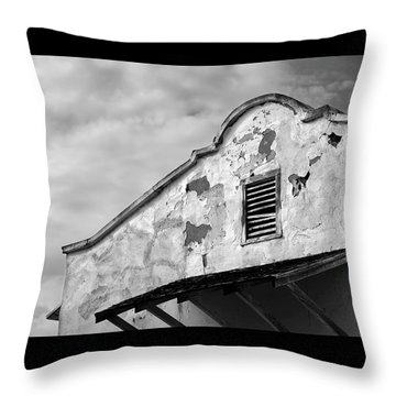 Weathered Sanctuary Throw Pillow