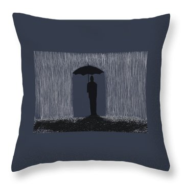 Weatherman Throw Pillow