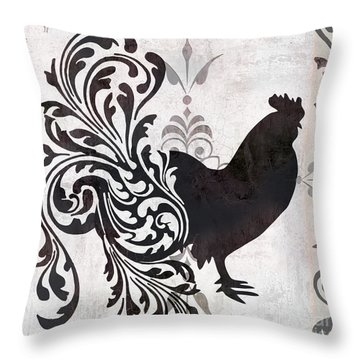 Weathervane II Throw Pillow by Mindy Sommers