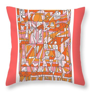 Weave What Works Throw Pillow by Linda Kay Thomas