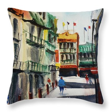Waverly Place Throw Pillow